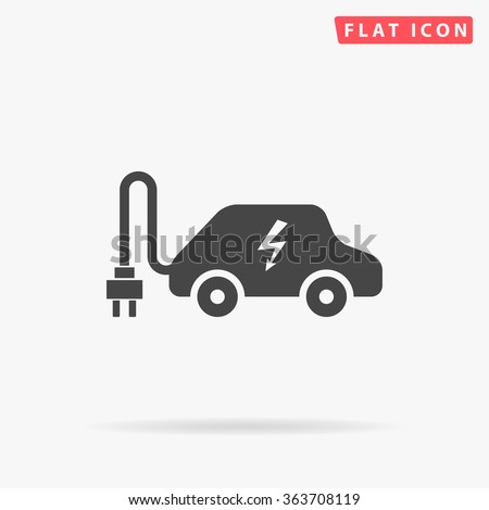 Electric car Icon Vector. Electric car Icon JPEG. Electric car Icon Picture. Electric car Icon Image. Electric car Icon JPG. Electric car Icon EPS. Electric car Icon AI. Electric car Icon Drawing - stock vector