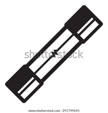 Electrical Fuse Electric Fuse Stock Vector