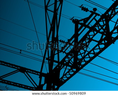 Electrical equipment vector background