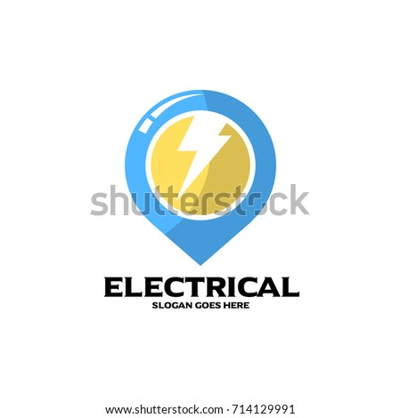 Electrical logo electrical mechanical business company stock vector electrical logo electrical and mechanical business company good for name card and branding vector colourmoves
