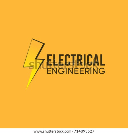 Electrical Logo Engineering Vector Template Illustration