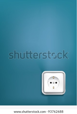 electrical  plug plumber repair facilities - stock vector