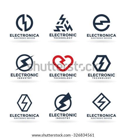 Electricity and electric energy (3) - stock vector