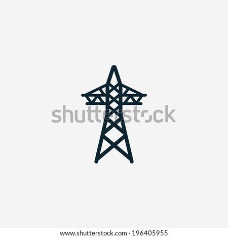 Electricity icon - stock vector