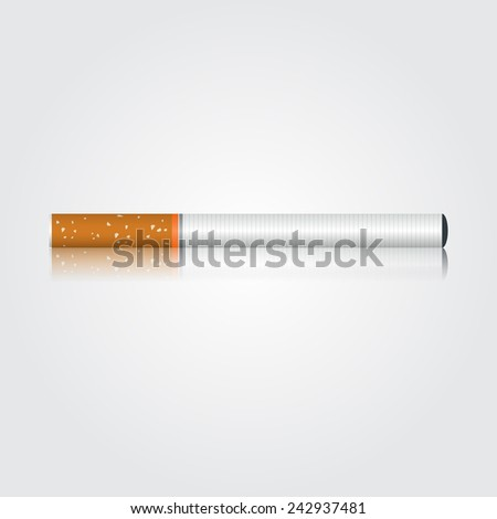 electronic cigarette. vector illustration