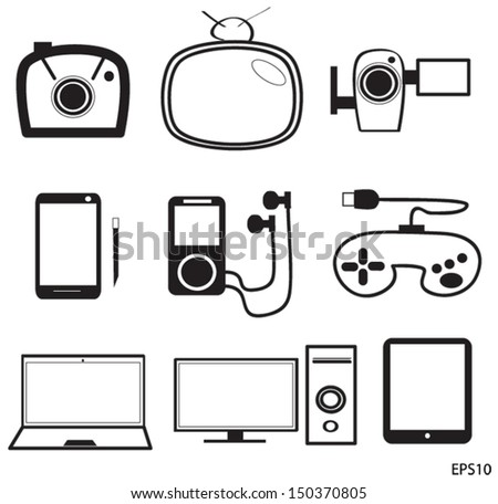 Electronic Devices Icons