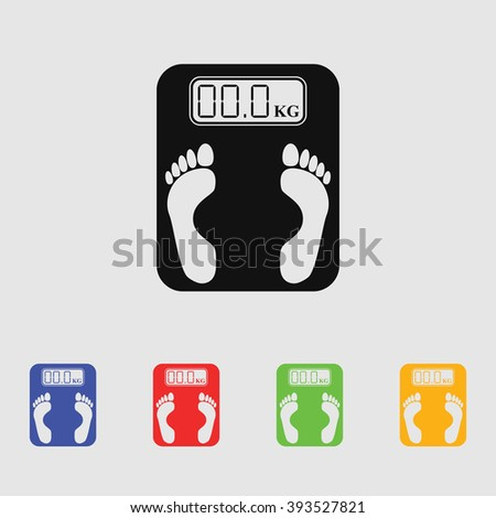Electronic weighing machine Icon