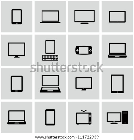 Electronics - stock vector
