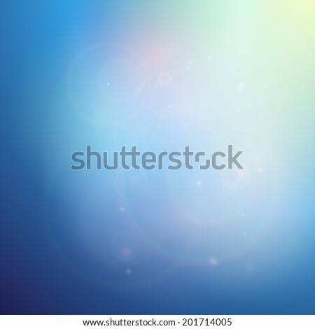 Elegant abstract blue background vector illustration - stock vector