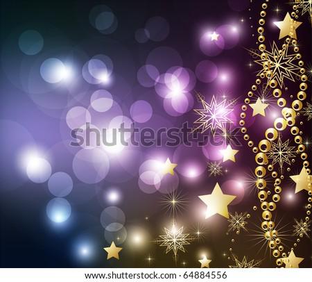 elegant christmas background for xmas design - stock vector