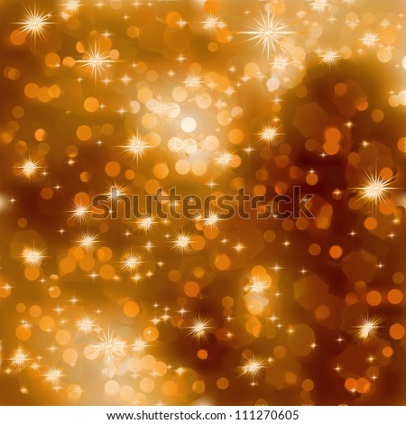 Elegant christmas background with place for new year text invitation. EPS 8 vector file included - stock vector