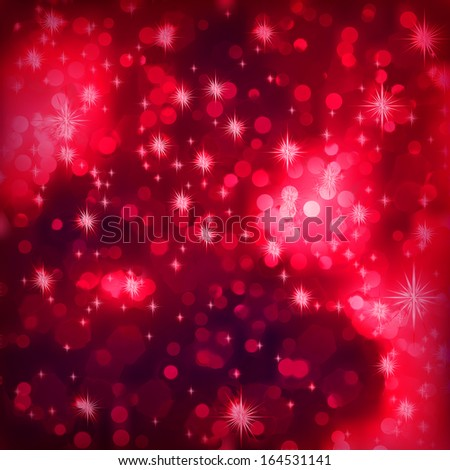 Elegant christmas background with place for new year text invitation. EPS 10 vector file included - stock vector