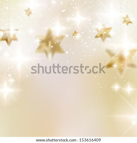Elegant Christmas background with snowflakes and copyspace. EPS10