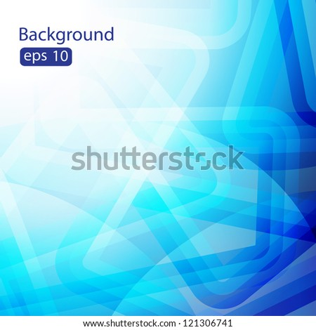 Elegant Colorful Light Lines Vector Background. Beautiful background for your design - stock vector