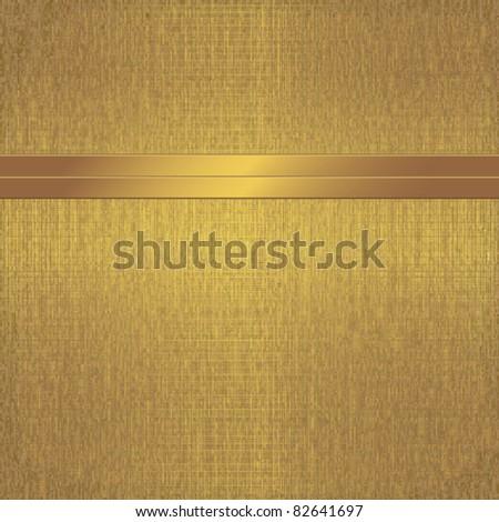 Elegant golden background - stock vector