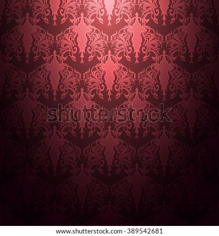 Elegant Magenta striped textured abstract seamless background vector