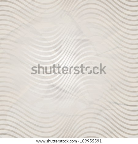 Elegant pattern of retro stripes - stock vector