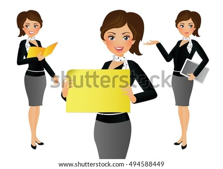 Cartoon boy giving girl gift box 503484799 elegant people businesswoman negle Image collections