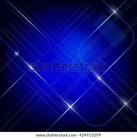 Elegant seamless pattern in blue.Vector bright frame.Abstract texture for your design and business.