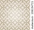Elegant seamless vector pattern - stock vector