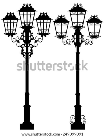 Lamp Silhouette Stock Images, Royalty-Free Images & Vectors ...