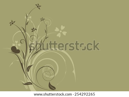 element of ornament  - stock vector