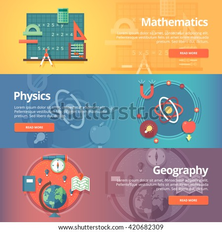 Geography math college subjects