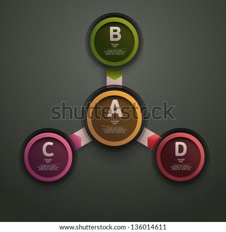 Elements of infographics. - stock vector