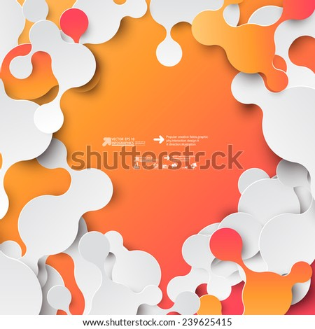 Elements of infographics - stock vector