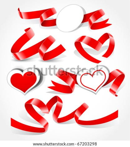 Elements to Valentine's Day - stock vector