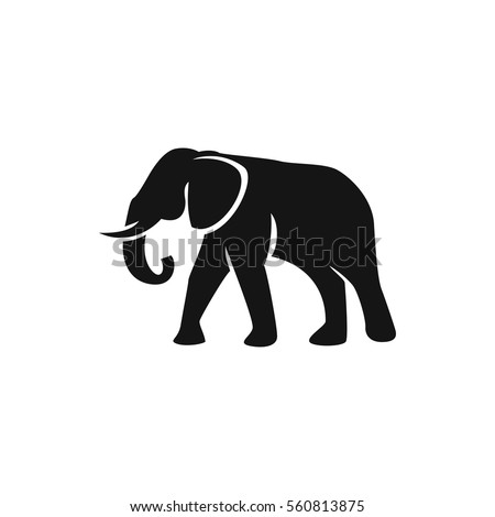 elephant silhouette stock images royalty free images vectors shutterstock. Black Bedroom Furniture Sets. Home Design Ideas