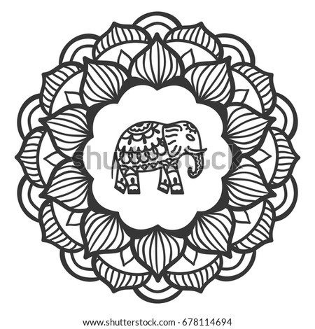 465382968 besides Tiseco furthermore Elephant Hand Mandala Oriental Ornament Yoga 678114694 also 467335744 as well Mandala Animals. on decoration in india