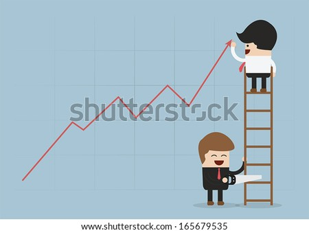 Eliminate the business rival, VECTOR, EPS10 - stock vector