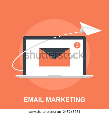 Email Marketing - stock vector