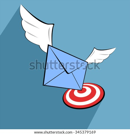 email sign - stock vector