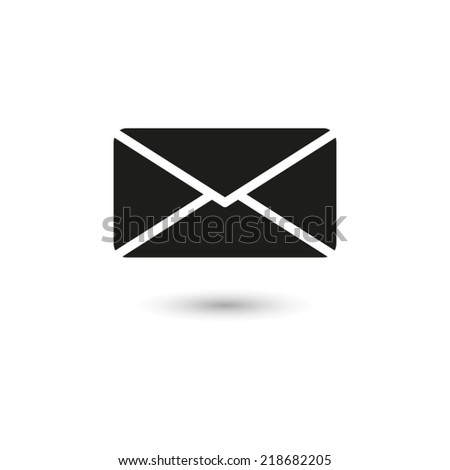 Email  - vector icon - stock vector