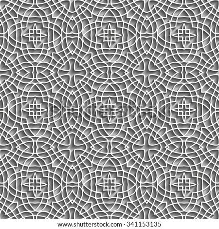 Embossed Pattern Design - stock vector