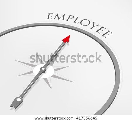 EMPLOYEE - stock vector