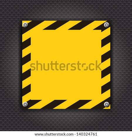 Empty cunstruction background vector illustration - stock vector