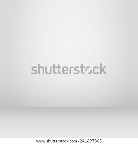 Empty spacious room for objects. Abstract background texture. Vector - stock vector