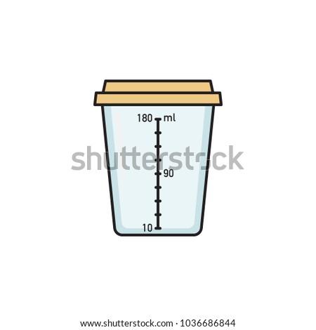 empty sterile plastic container urine specimen stock vector hd rh shutterstock com