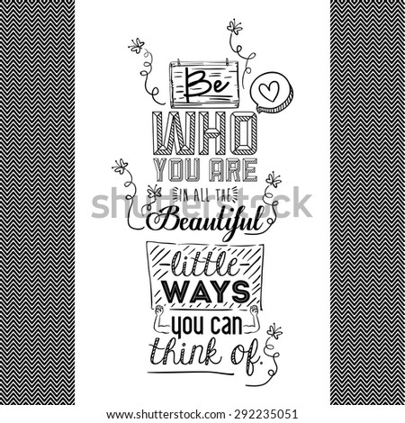 encourage quotes design, over white background, vector illustration - stock vector