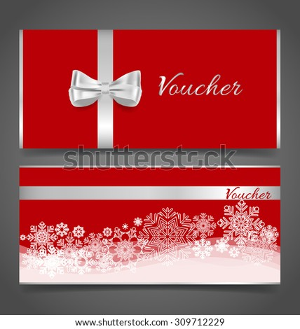End of year sale savings labels set, price tag, sale coupon, voucher. Christmas template Design vector illustration. - stock vector
