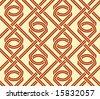 endless eyes  - seamless pattern - stock vector