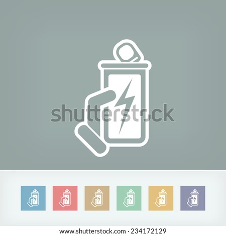 Energy drink - stock vector