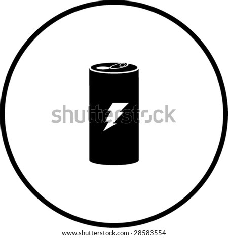 Energy Drink Symbol Stock Vector 28583554 - Shutterstock