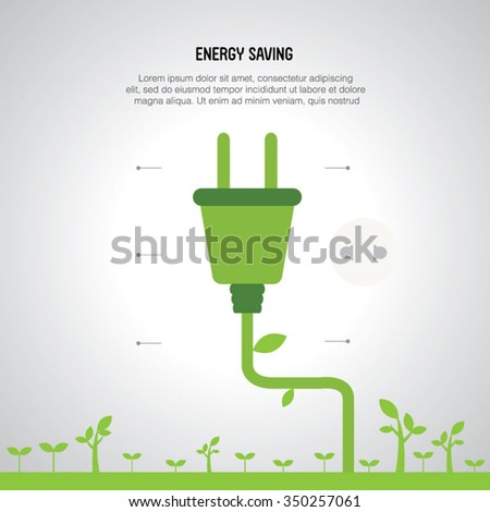 energy saving background