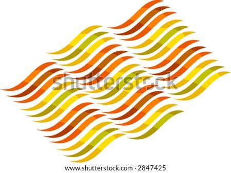 Energy Wave - stock vector