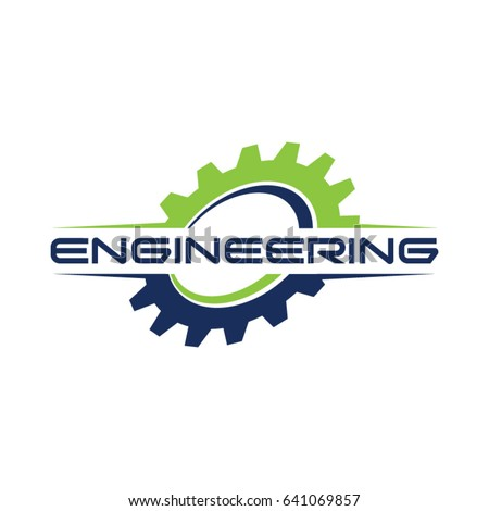 Engineering gear logo symbol stock vector 641069857 for Engineering design firm