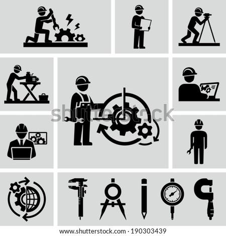 Engineering vector  - stock vector